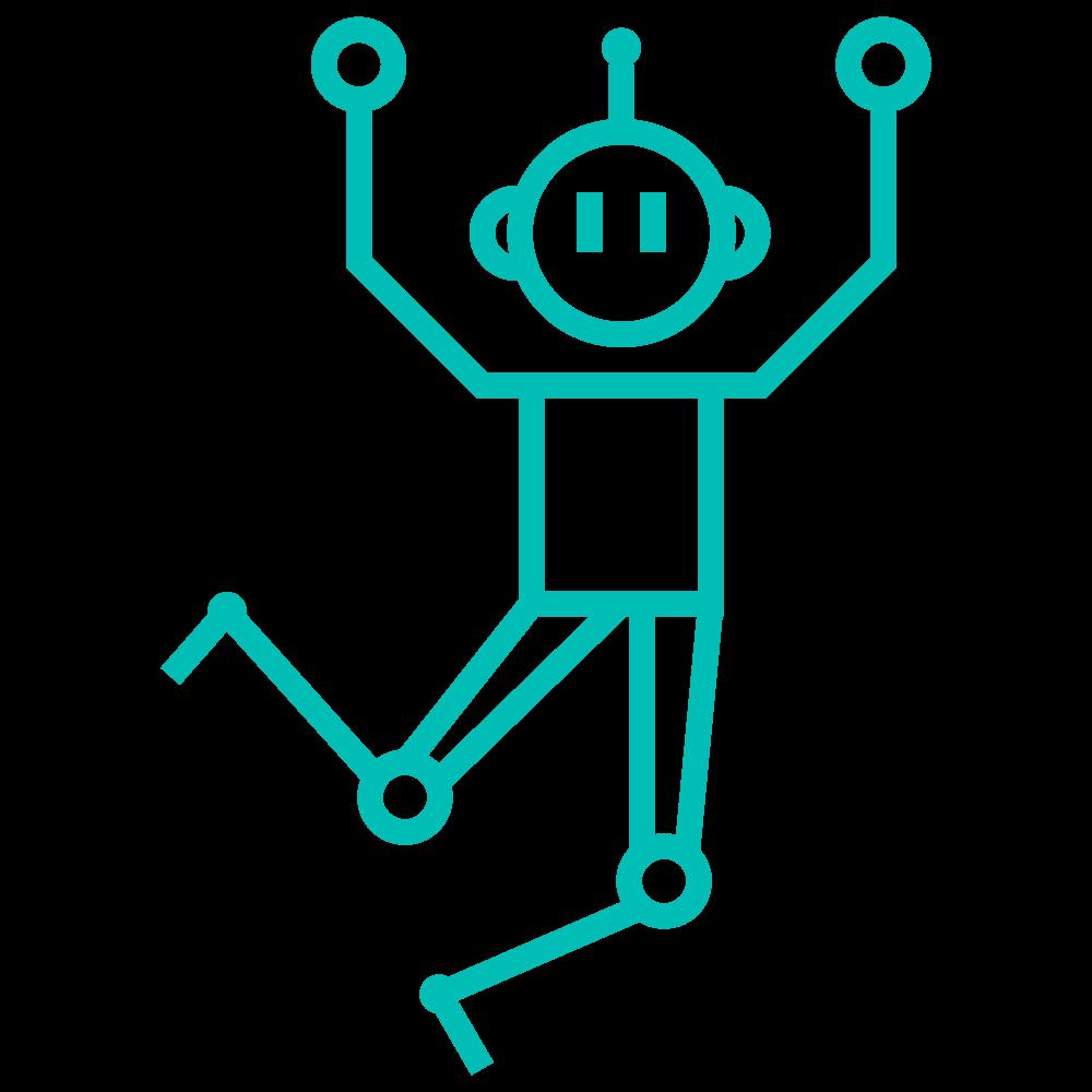 Robot som hopper